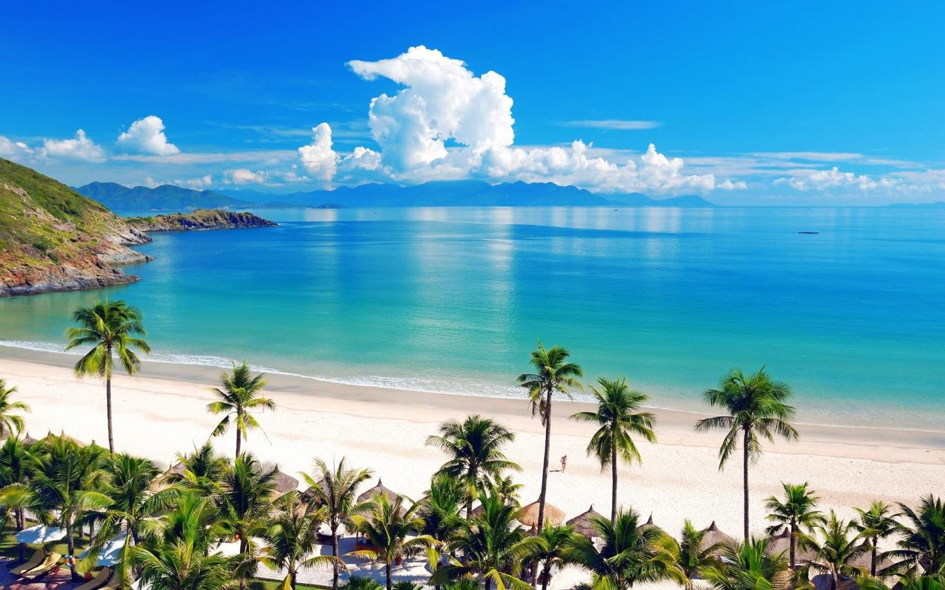Nha Trang, the coastal resort city.