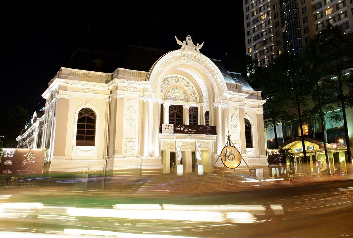 Ho Chi Minh city municipal theatre - Saigon Opera House