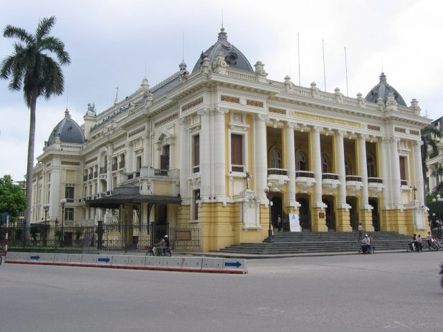 hanoi opera house e1488271306880 - Top things to do in Hanoi