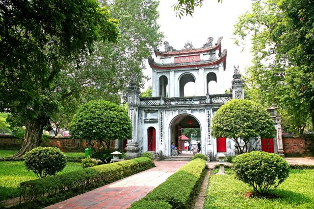 temple of literature e1488271210192 - Top things to do in Hanoi
