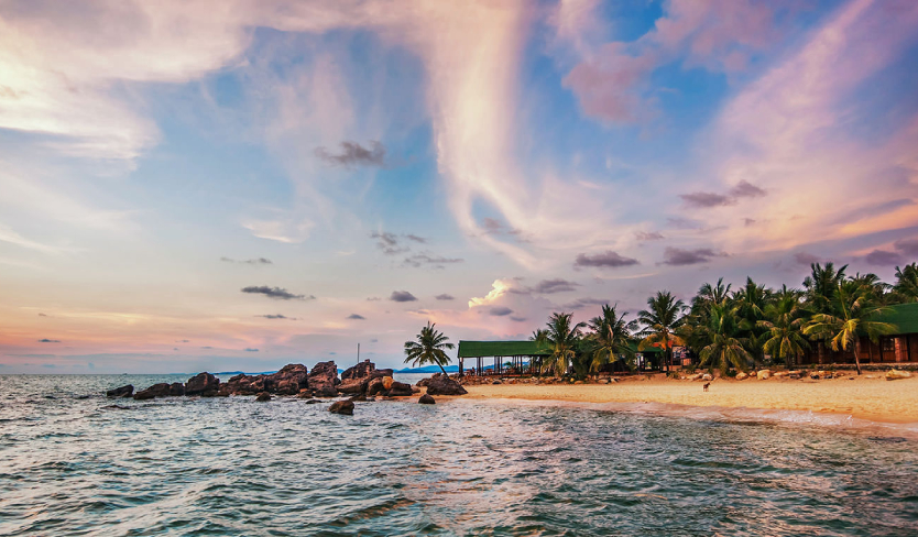 Where is the pearl Phu Quoc Island located?
