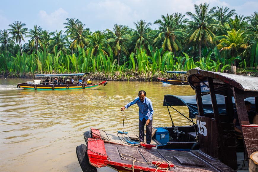 Day-tripping in the Mekong Delta