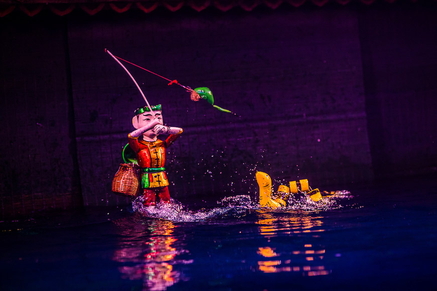 water20puppet20show - All about Vietnamese water puppets