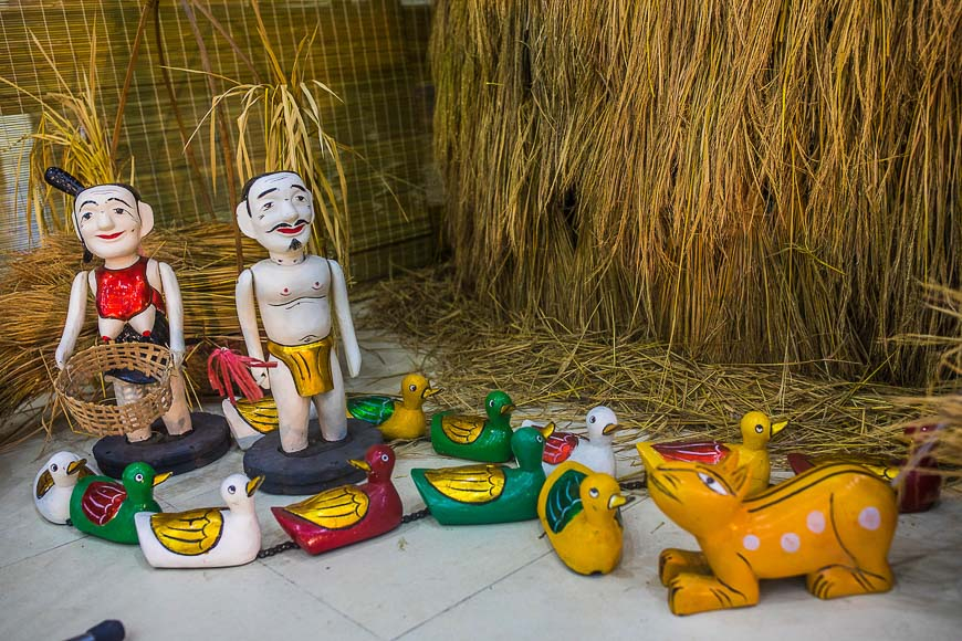 All about Vietnamese water puppets